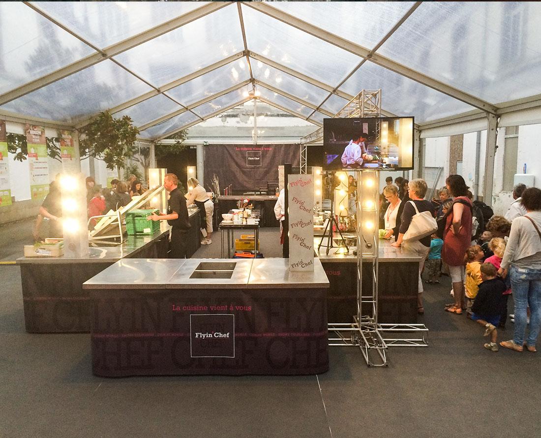Location De Cuisine Mobile Et Materiel De Cuisine Flyin Chef