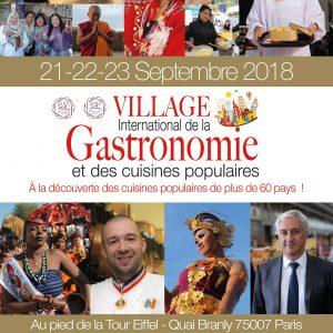 Flyin'Chef partenaire officiel du Village International de la Gastronomie